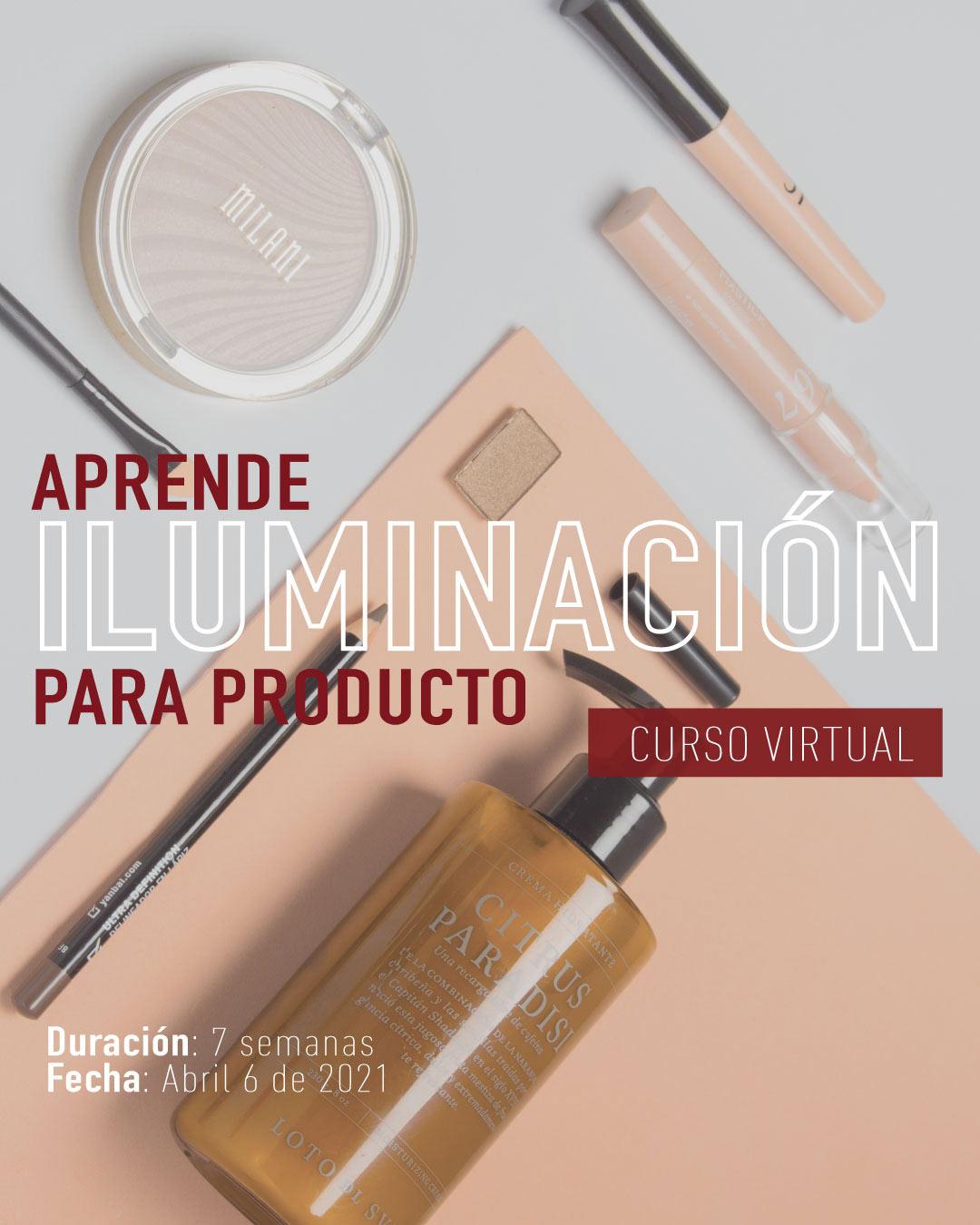 Curso de fotografia de producto en Colombia